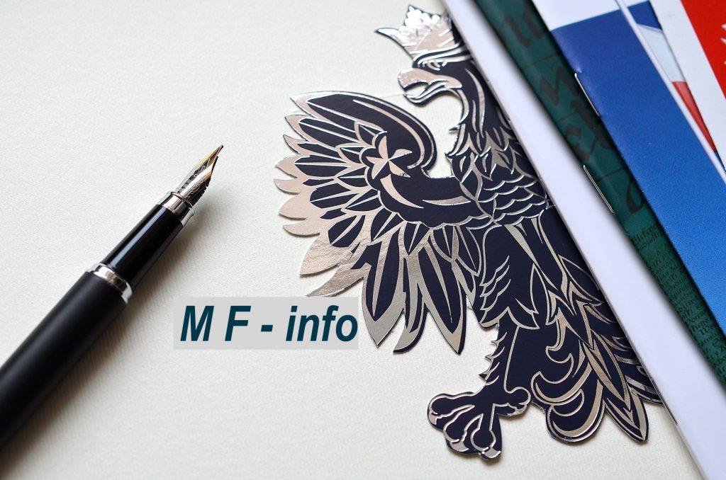Info z Ministerstwa Finansów