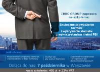 Szkolenie IBBC - Wykrywanie kłamstw